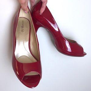 Bandolino | Red Patent Leather Heels